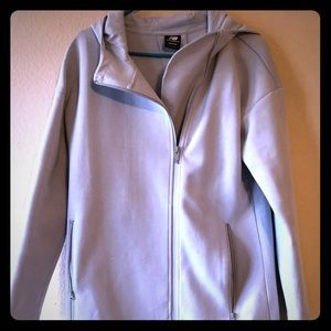 New Balance jacket. Gray with a tinge of blue.